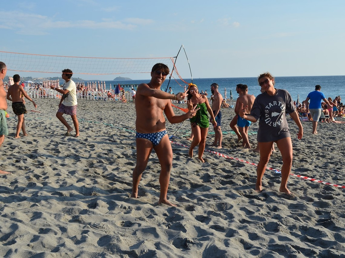 partita beach volley